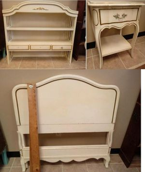 French provincial bedroom set (read ad) for Sale in St. Peters, MO