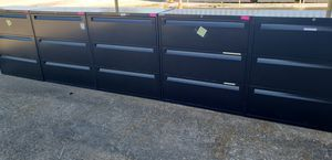 used 3DRAWERS FILE CABINETS FOR SALE!!!!....each for Sale in Houston, TX