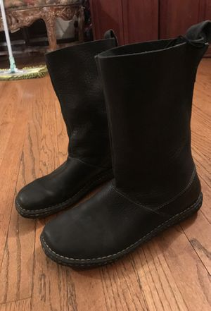 Black Leather Born Rain Boots for Sale in Los Angeles, CA