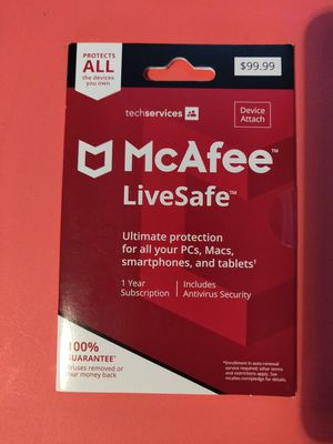 McAfee virus protection installation for Sale in Calumet Park, IL