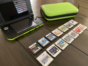 Nintendo 3DS XL with 14 games for Sale in Chandler, AZ