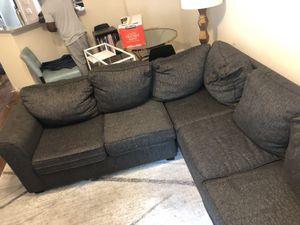 Dark Grey Couch for Sale in Atlanta, GA