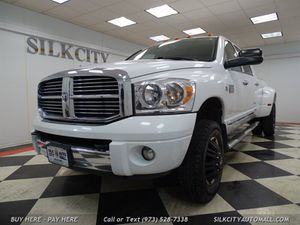 2007 Dodge Ram 3500 Laramie DIESEL DUALLY Souther Truck NO RUST! for Sale in Paterson, NJ