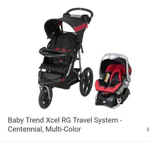 Baby trend...base car seat and stroller for Sale in Grand Island, FL