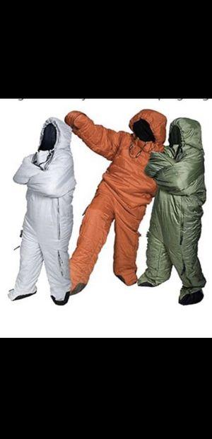 Musuc' selk bag yellow sleeping bag size M for Sale in Santa Monica, CA