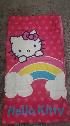 Hello kitty kids sleeping bag for Sale in Snohomish, WA
