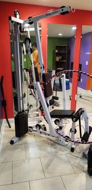 Body solid at home gym for Sale in Fredericksburg, VA