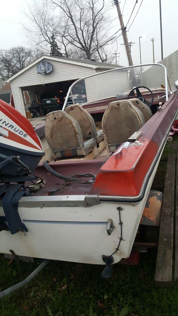 1971 Saftmate 15 Foot Boat