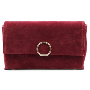Red scrub leather envelope purse for Sale in Redwood City, CA