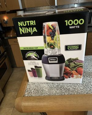 Nutri Ninja 1000W Blender - Brand New for Sale in North Attleborough, MA