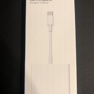 Apple USB-C to Digital AV Multiport Adapter for Sale in Dallas, TX