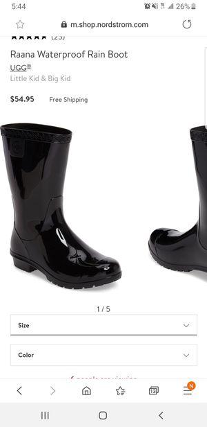Ugg rain boots for Sale in Camden, NJ