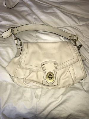 6d75c2ae51 Small cream Coach purse for Sale in Puyallup