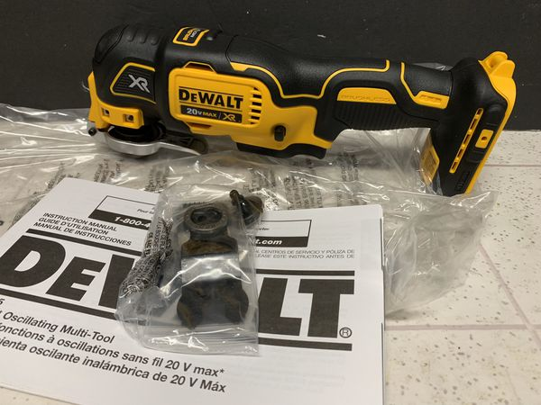 DEWALT 20-Volt MAX XR Lithium-Ion Cordless Brushless Oscillating Multi-Tool (Tool-Only)