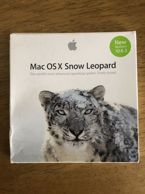 Mac OS X software update for Sale in Eau Claire, WI
