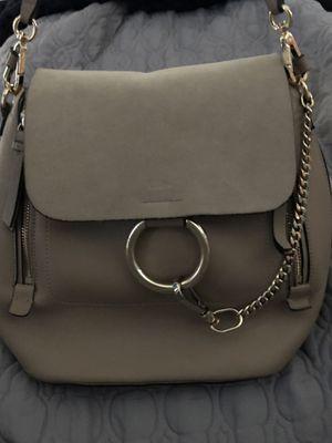 Chloe calfskin Suede Faye backpack purse medium for Sale in Wesley Chapel, FL