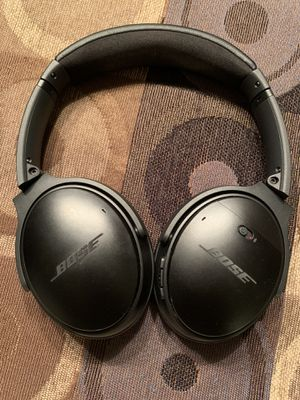 Bose QC 35 Bluetooth noise canceling for Sale in Chandler, AZ