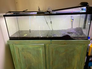 55 gallon fish tank for Sale in Hacienda Heights, CA