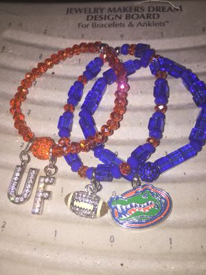 Custom team bracelet stacks all made by hand for Sale in Tampa, FL