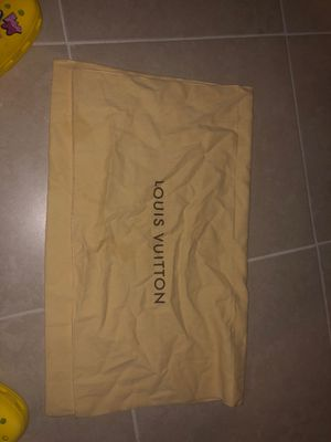 Louis Vuitton Neverfull Dust Bag for Sale in Vallejo, CA