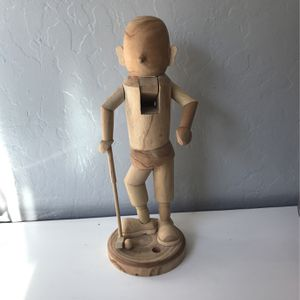 Golf Natural Wood Nut Cracker for Sale in San Jose, CA