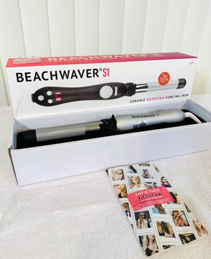 New - The Beachwaver S1 - Ceramic Rotating Curling Iron w/ Box & Paperwork 👏 for Sale in Boynton Beach, FL
