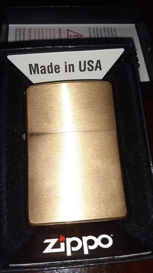 Bronze zippo for Sale in Chesilhurst, NJ