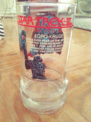 Star Trek 2 Collectibles Glass for Sale in Hyattsville, MD