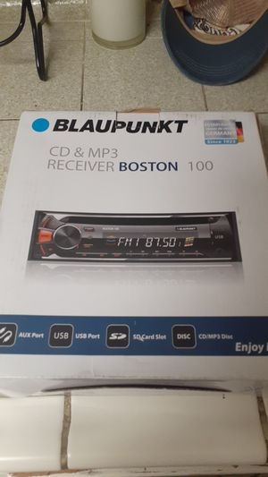 Brand new still in box stereo playes mp3.sd cards and CD for Sale in Orange, CA