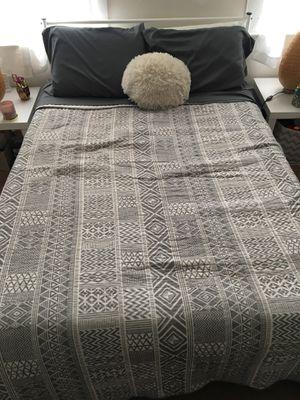 Standard Full Size Bed Frame & Memory Foam Mattress for Sale in Oxon Hill, MD