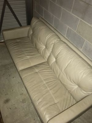 Leather Couch for Sale in Mount Rainier, MD