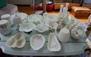 Milk glass lot for Sale in St. Louis, MO