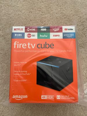 Fire TV Cube 2nd Gen Brand New for Sale in Charlotte, NC
