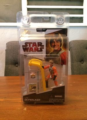 Star Wars Legacy Collection Luke Skywalker 2009 San Diego Comic Con exclusive action figure for Sale in Puyallup, WA