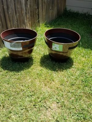 Brand New Huge Gallons Planting Pots for Sale in Hutto, TX