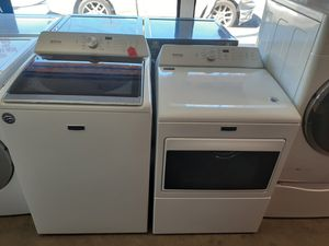 New Maytag Top Load Washer and Gas Dryer Set for Sale in Los Angeles, CA