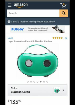 Little dog carrier for Sale in Modesto, CA