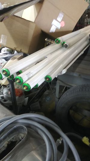 8 foot floursent tubes for Sale in Dallas, TX