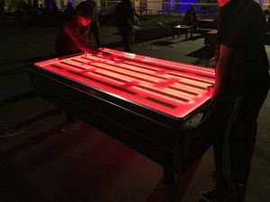 Led air hockey table for Sale in Riverside, CA