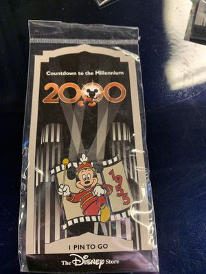 Disney Mickey 1955 2000 Millennium Pin for Sale in Denver, CO
