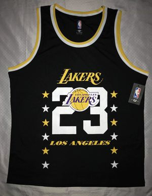 XL LEBRON JAMES LAKERS NBA TEAM JERSEY. MAKE A OFFER for Sale in Dallas, TX