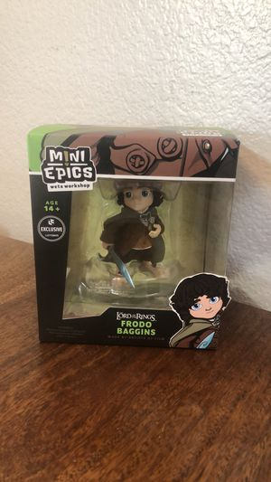 "NEW Lord Of The Rings - Frodo - Exclusive Figure - Mini Epics 4"" Toy for Sale in Chula Vista, CA"