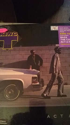 King T1988 original vinyl record for Sale in Modesto, CA