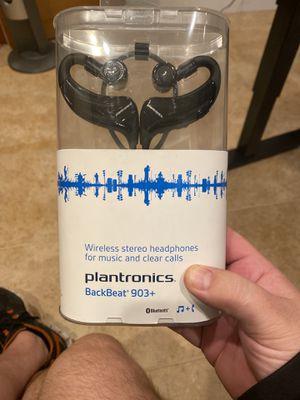 Plantronics Backbeat 903+ Bluetooth Headphones with Mic for Sale in Auburn, WA