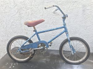 Old school Boys 16 inch loop tail BMX bike bicycle for Sale in Anaheim, CA