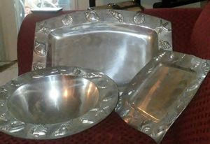 real nice serving set 3 piece for Sale in Fresno, CA