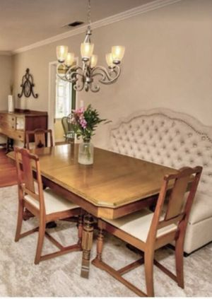 Antique Art Deco Dinner Table and Chairs for Sale in Santa Ana, CA