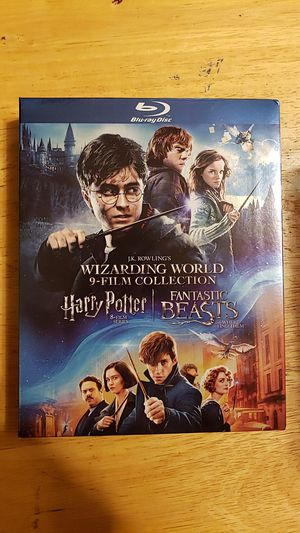 Harry Potter movie's and the first fantastic beasts Blu Ray for Sale in Pico Rivera, CA