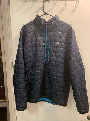 Patagonia M's Nano Puff 1/2 Zip Pullover for Sale in Denver, CO