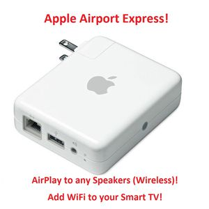 Make any speakers WiFi / Wireless! Apple Airport Express for Sale in Irvine, CA